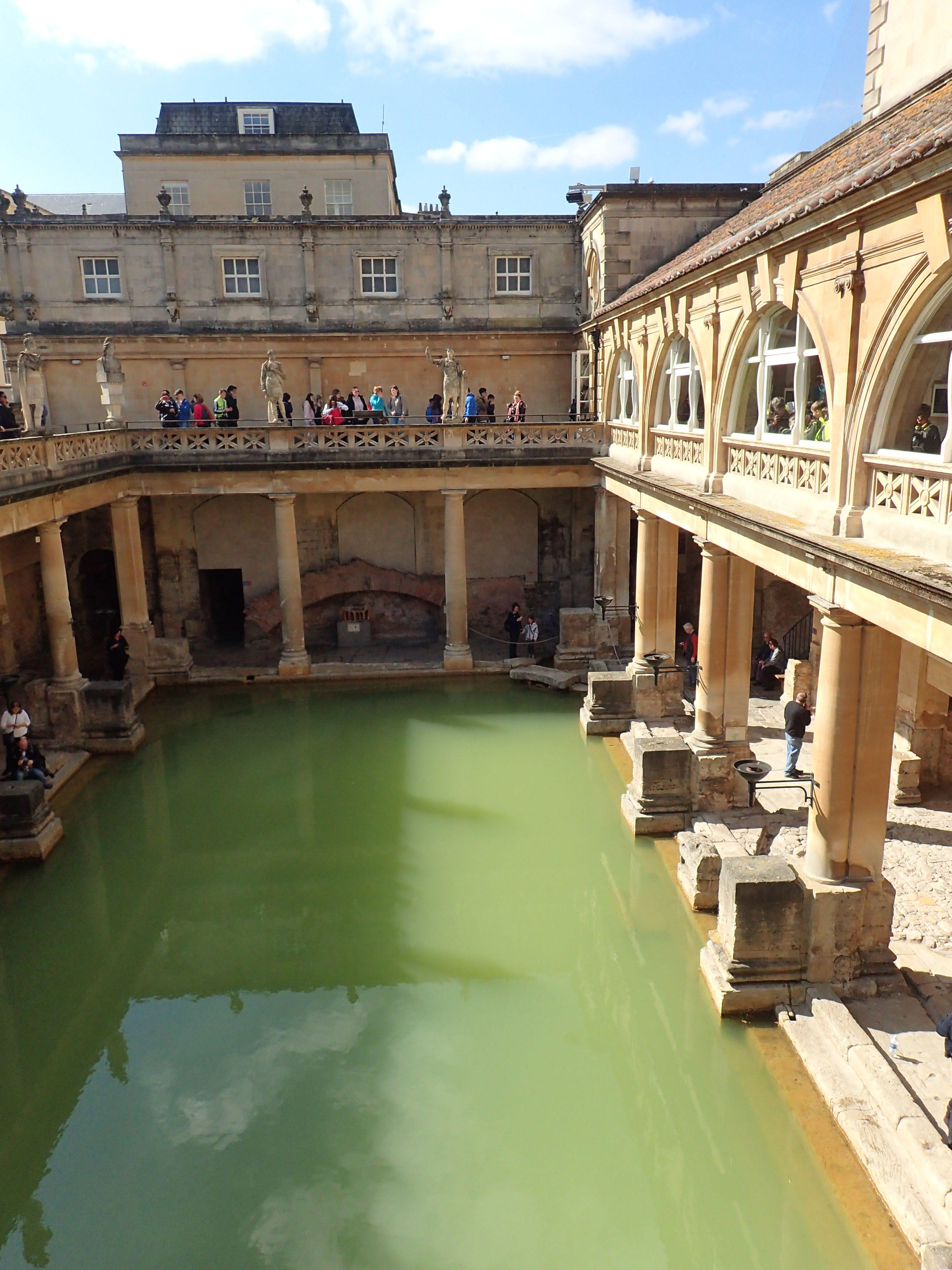 Sprachreise nach Bath Römische Bäder Culture XL