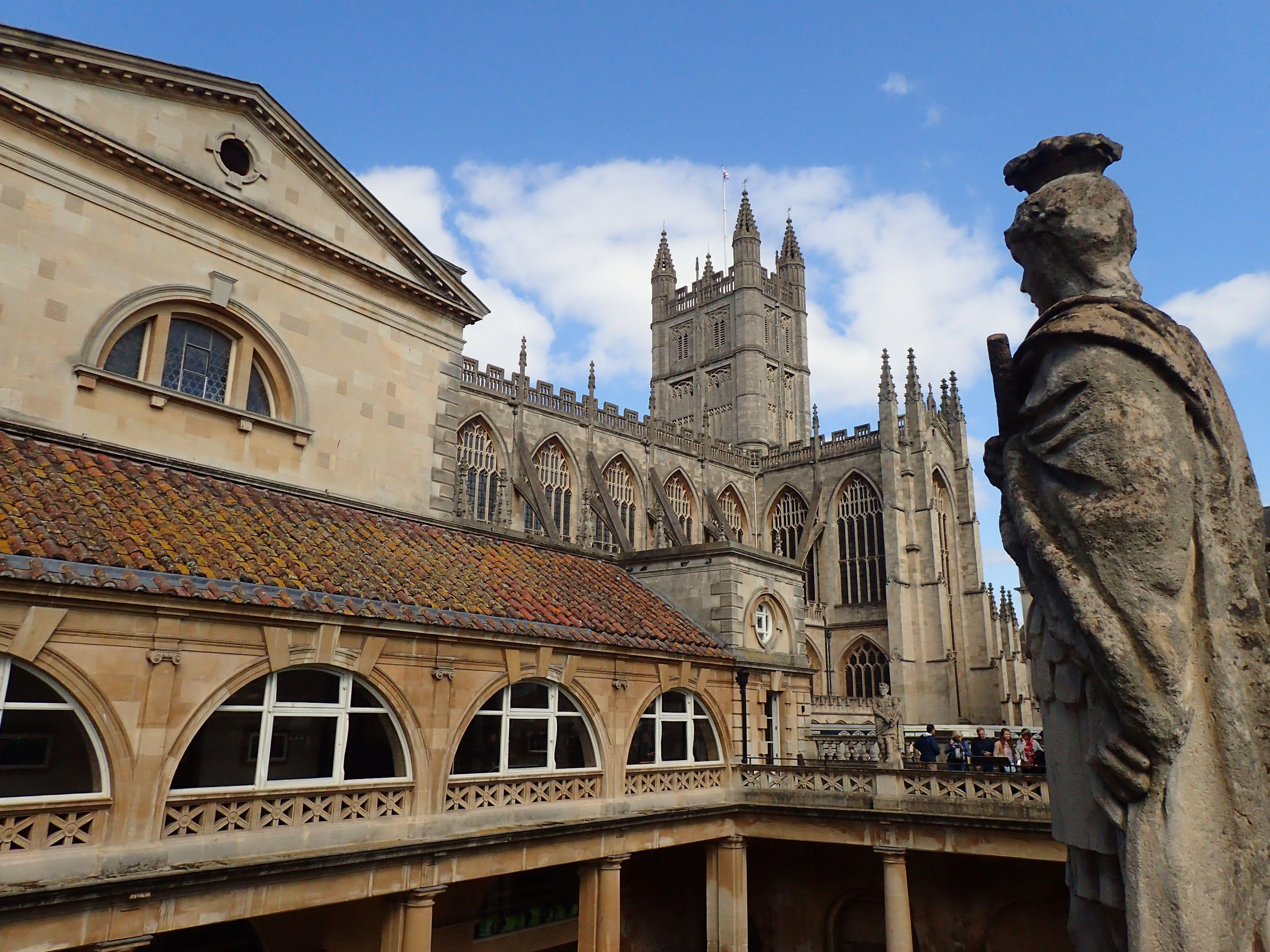 Sprachreise nach England Römisches Bad und Bath Abbey