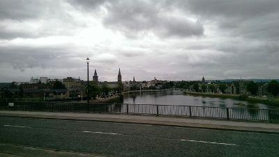 Auflug nach Inverness, Hauptstadt der Highlands