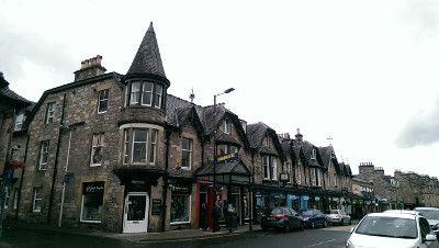 Auflug nach Pitlochry, Schottland