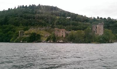 Urquhart Castle, Schottland, Loch Ness, Ausflug