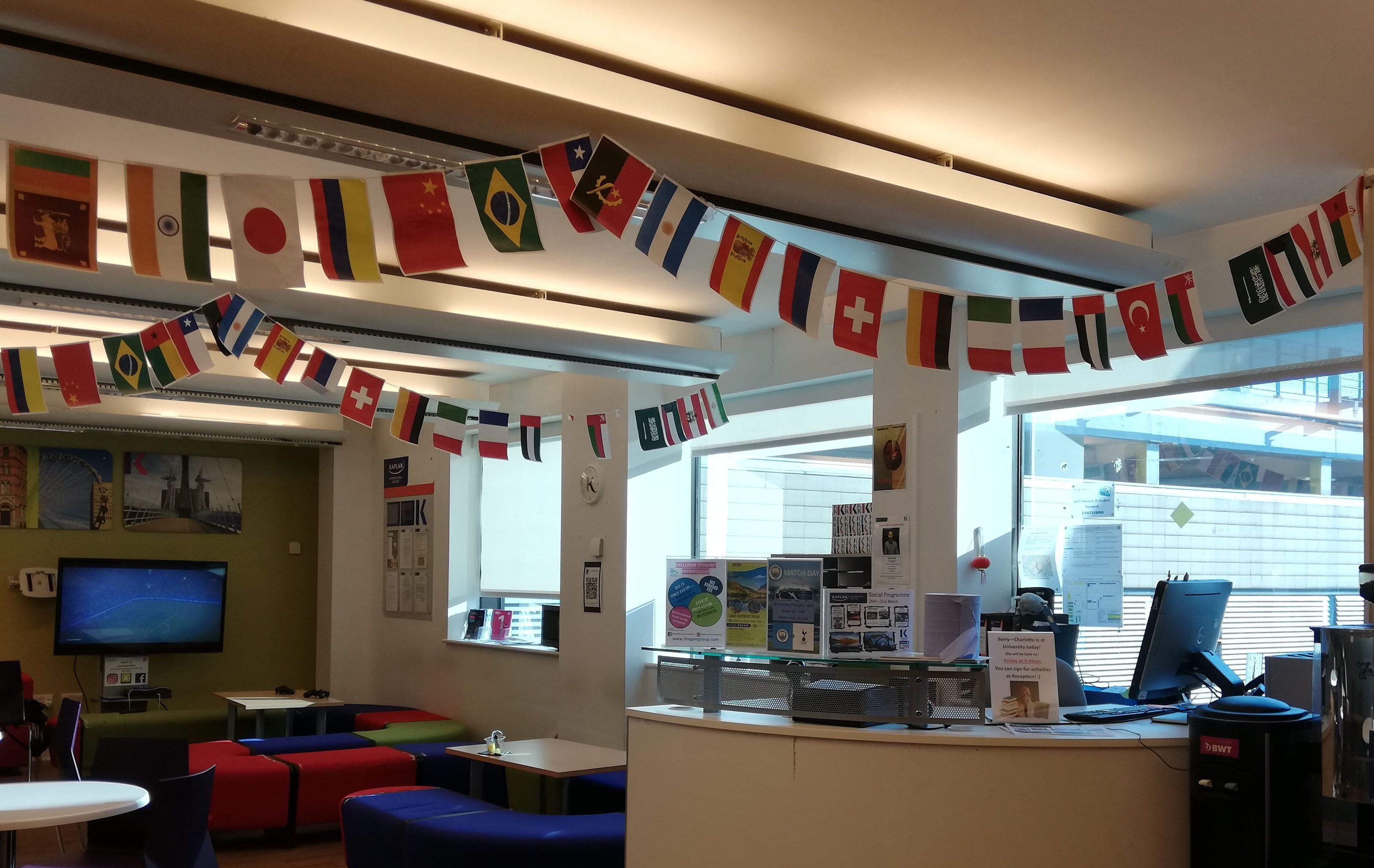 Manchester Sprachreise Nationalitäten