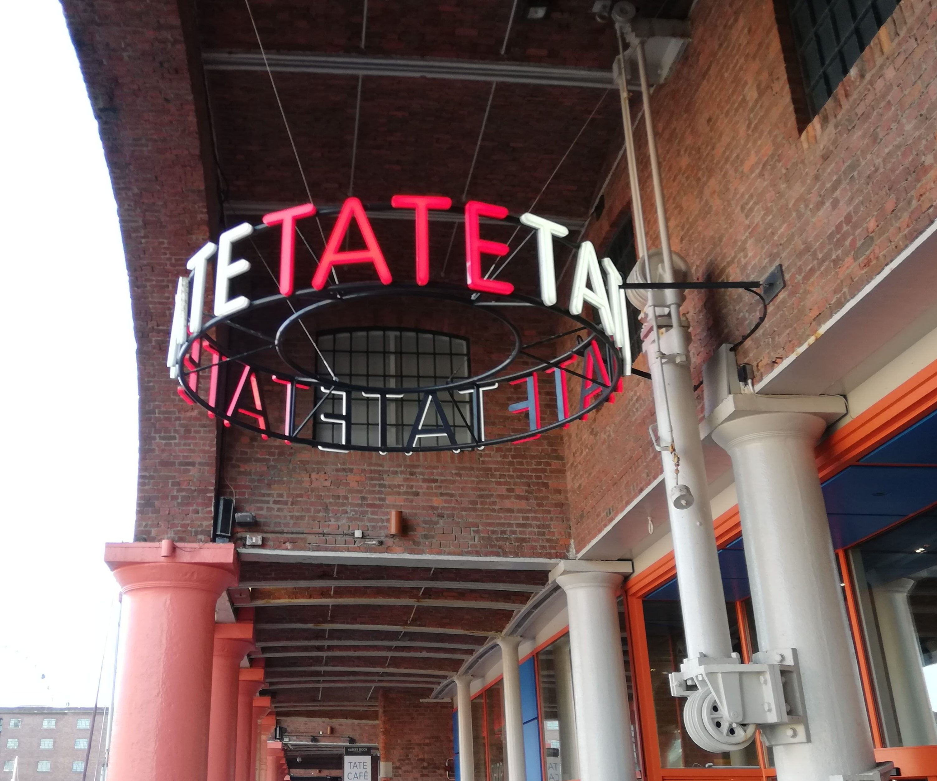 Sprachreise Liverpool, Tate, Kunst