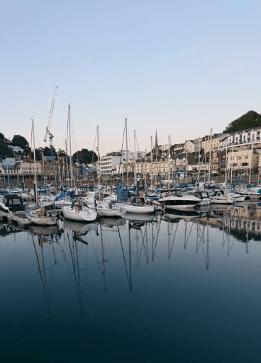 Torquay Hafen 2, Erfahrungsbericht von Malin Schülersprachreise Torquay