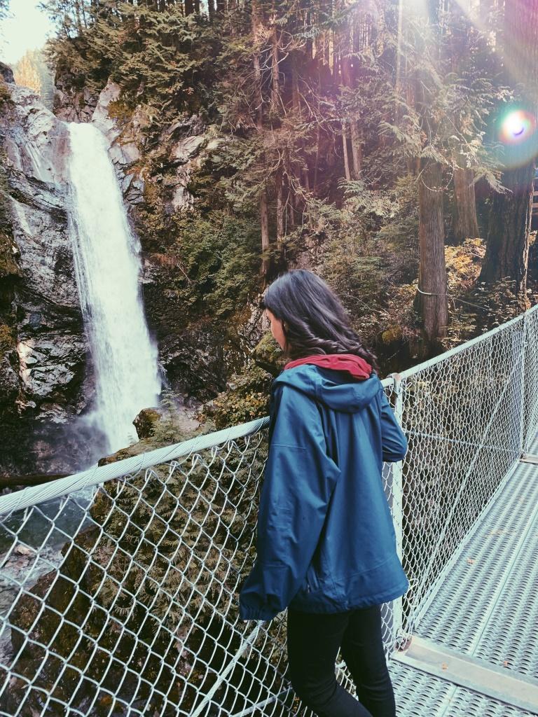 Erfahrungsbericht High School Kanada - Wasserfall