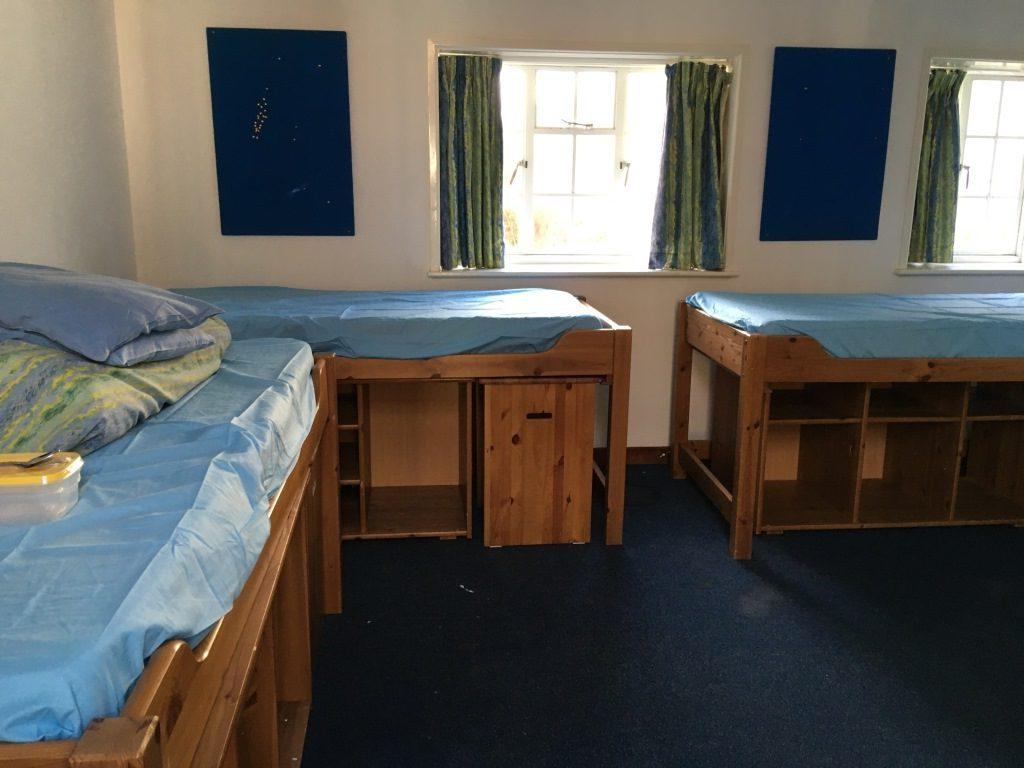 Erfahrungsbericht Campbetreuung Großbritannien - Vier-Bett-Zimmer Mitarbeiter 2