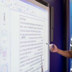 Sprachreise nach Brisbane Interactive Whiteboard