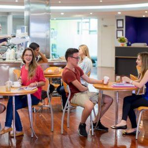 Sprachschule Brisbane Café