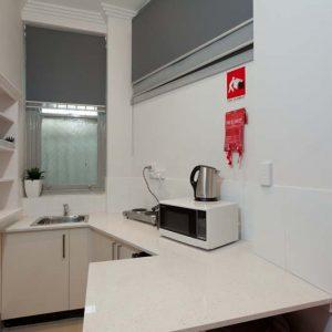 Küche Unterkunft Sydney Praktikum