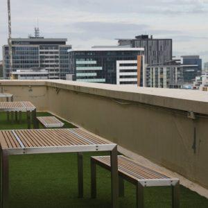 Sprachreise Brisbane Balkon ohne Schüler
