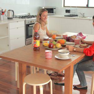 Küche Geteilte Studentenwohnung Praktikum Australien