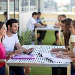 Sprachschule Brisbane Balkon