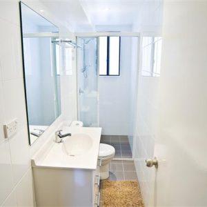 Badezimmer Geteilte Studentenwohnung Praktikum Australien