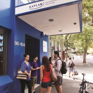 Sprachreisen Australien Sydney City Kaplan Eingang